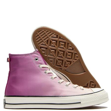 Converse Chuck 70 Hi Gradient Primaloft Sneakers - Rose Maroon
