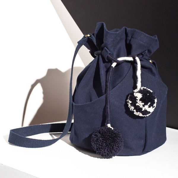 Dia bucket bag - navy