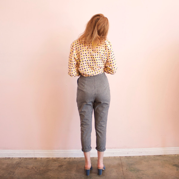 Garden pants - stripe
