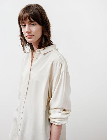 Totême Benicia Silk Shirt - Ivory
