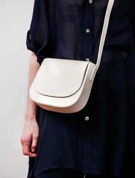 Mansur Gavriel Crossbody Pebble Bag - Crème