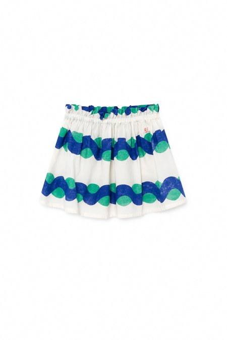 Bobo Choses All Over Sea Flared Skirt
