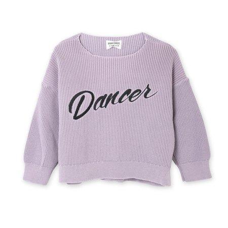KIDS Bobo Choses Dancer Knitted Jumper - PURPLE