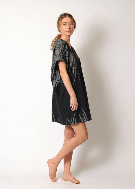 Uzi NYC V-Dress Feather
