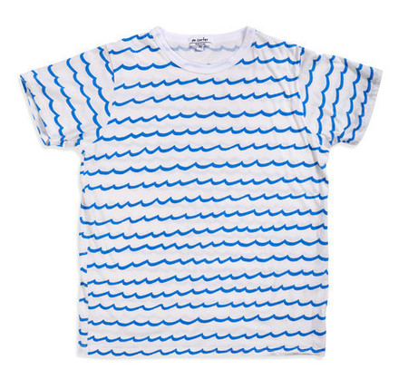 M. CARTER CO. - Wave Stripe Tee - SIZE XL ONLY!