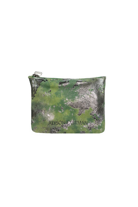 Alyson Eastman Small Pouch - Green