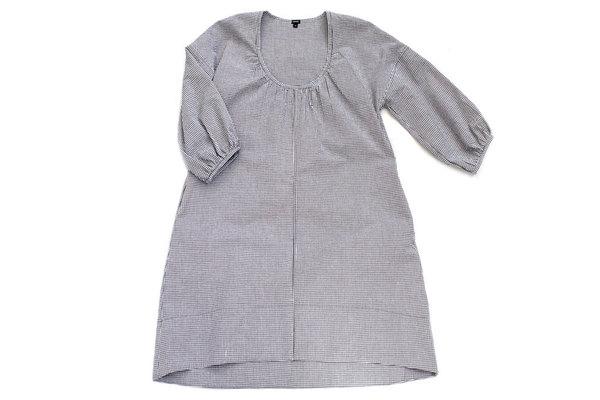 pietsie Mojave Dress in Black and White Check Gingham