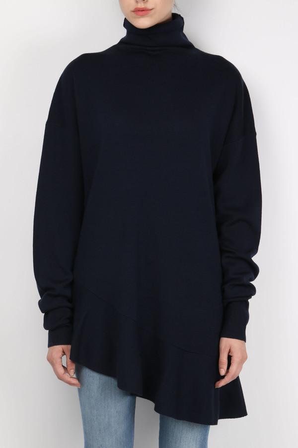 Tibi Merino Tunic Pullover