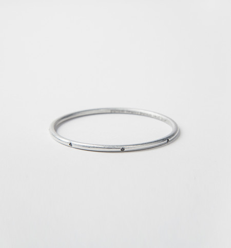 Article 22 Black Diamond Bangle