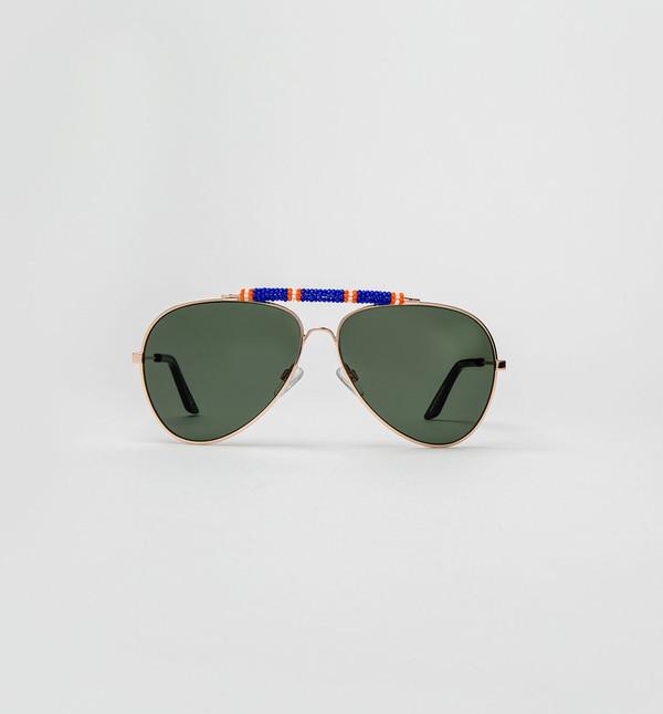 Michael Nelson Exclusive Sunglasses Blue