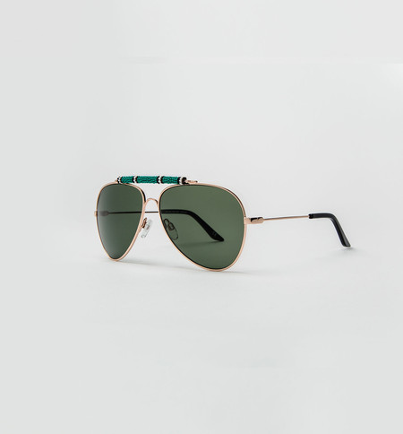 Michael Nelson Exclusive Sunglasses Green