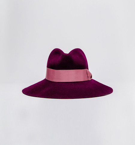 Prymal Felt Shade Hat Plum