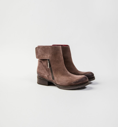Colette Sol USA James Biker Boot Brown