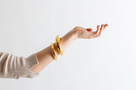 Gabriela Artigas Large Aura Cuff - Yellow Gold