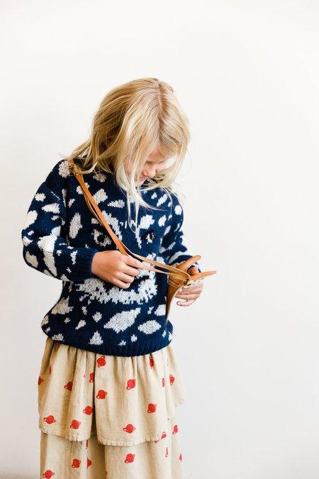 Kids Noe & Zoe Tiger Sweater - Blue