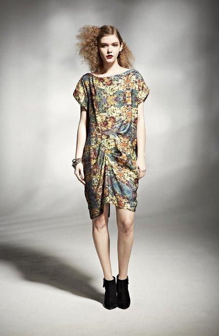 H. Fredriksson TWEAK DRESS - cupro print
