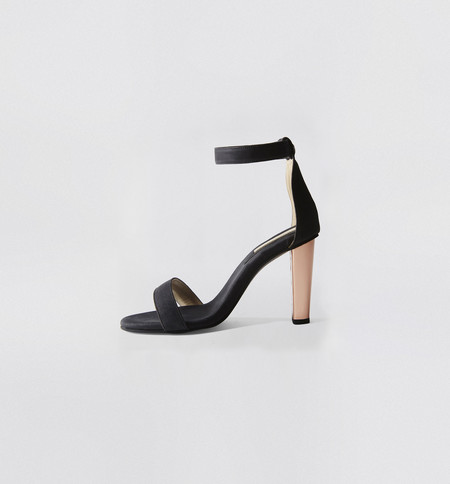 Sydney Brown Open Toe Heel