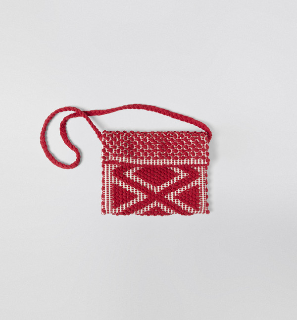 Antonello Rombi Clutch Red
