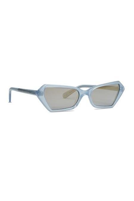 Carla Colour Battu Sunglasses - Electron/Charge