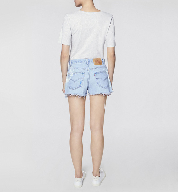 Rialto Jean Project Vintage Denim Shorts