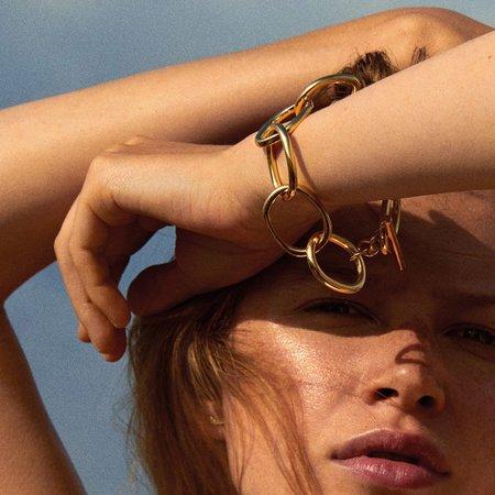 Pilgrim Air Bracelet - Gold Plated