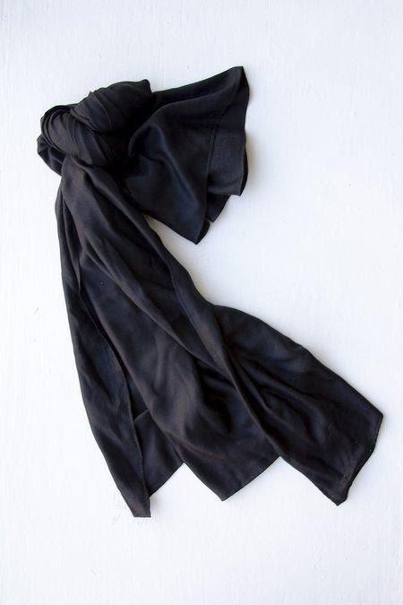 M.Patmos Frances Silk Scarf - Black