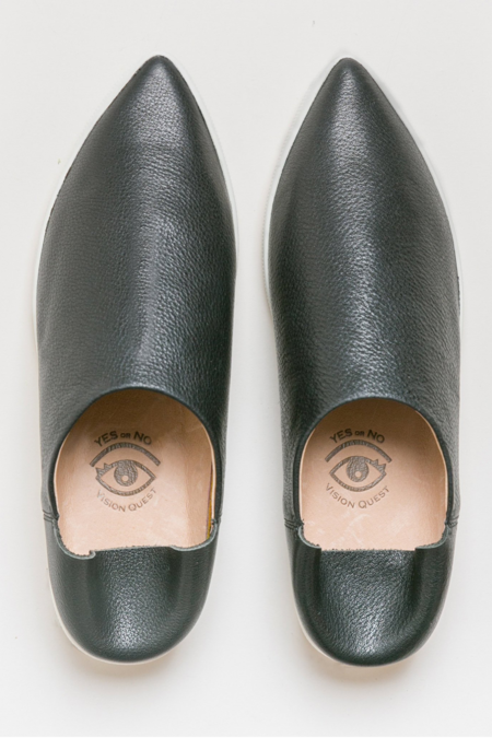 Vision Quest Babouche Sneakers - Black