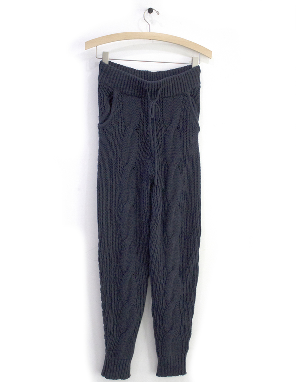 Priory of Ten Blue Knit Pant