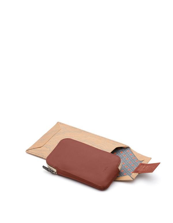 Bellroy Elements Phone Pocket i6 Cognac