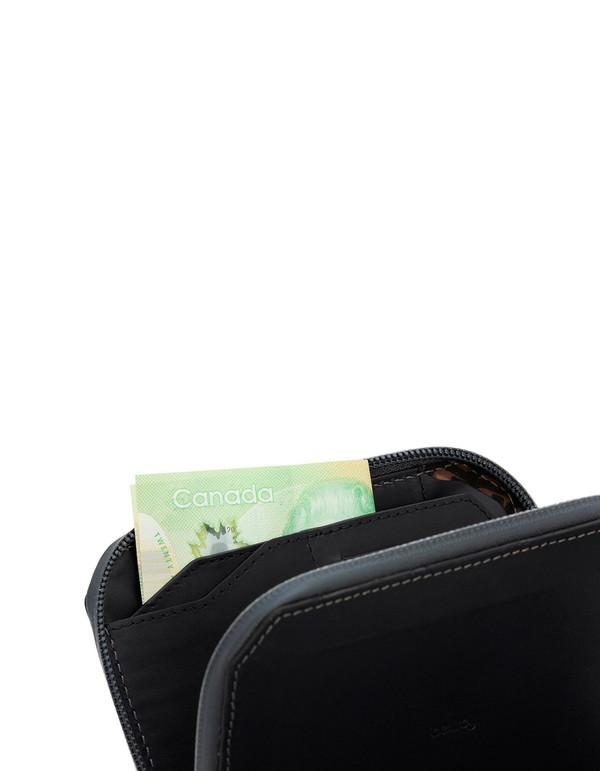 Bellroy Elements Travel Wallet Black