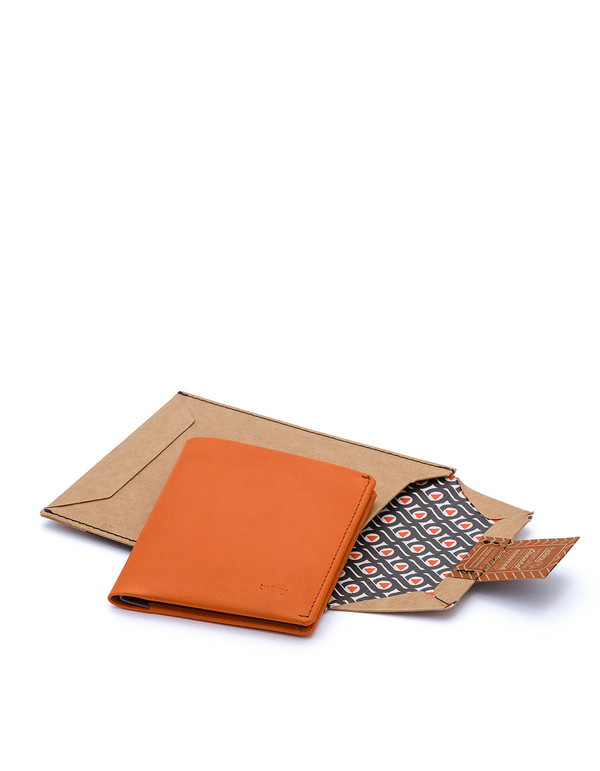 Bellroy Note Sleeve Wallet Burnt Orange