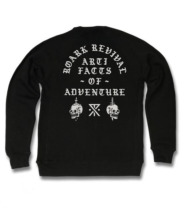 Men's Roark Revival Cursed Artifacts Crew Fleece