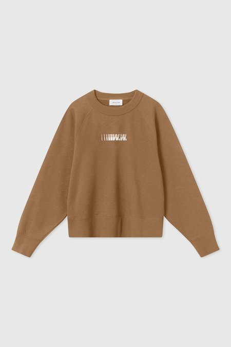Wood Wood Hope Sweatshirt - Dark Khaki