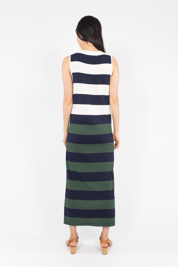 Le Mont St. Michel Stripe Dress