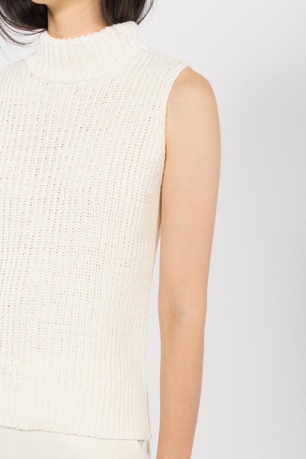 You Must Create Sleeveless Rib Knit