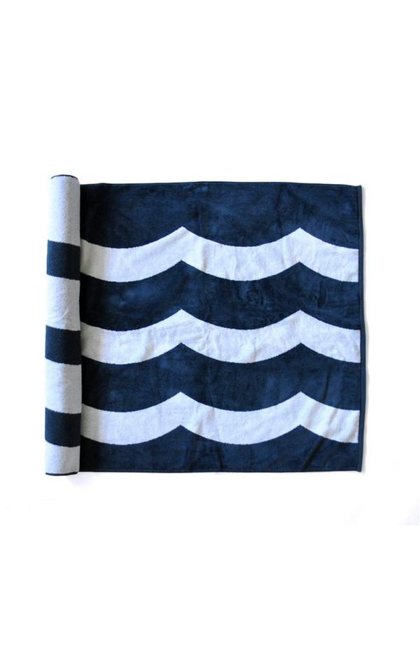 Sol Angeles Waves Beach Towel