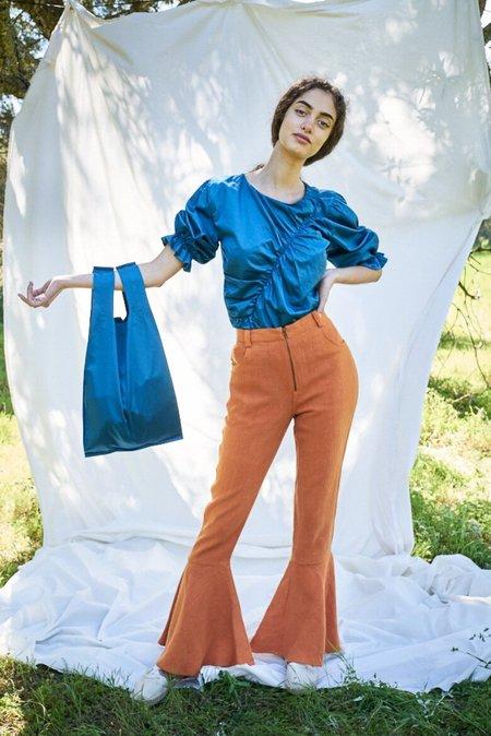 Siz Moss Bag - Petrol Blue