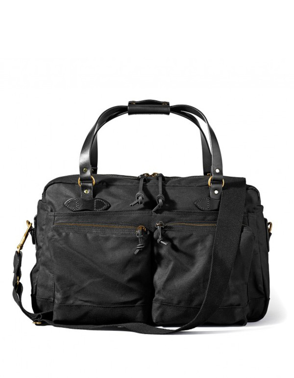 Filson 48 Hour Tin Duffle Black