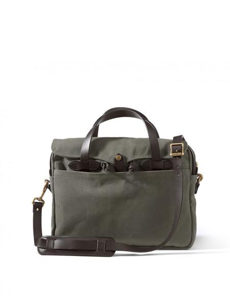Filson Original Twill Briefcase Otter Green