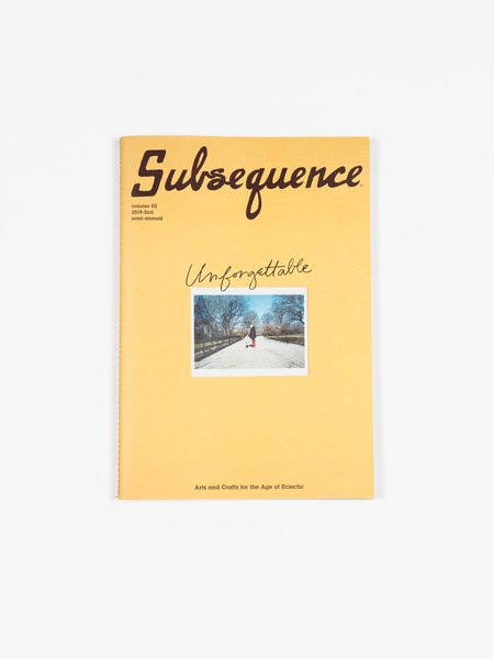 "Visvim  ""Vol. 2"" by Subsequence Magazine"
