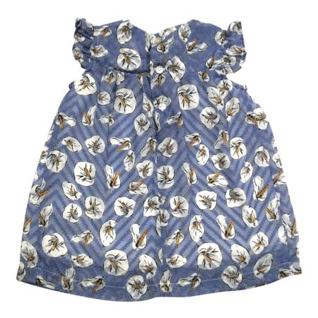 Kids Mademoiselle à Soho Dorothy Baby Dress & Bloomer - Blue