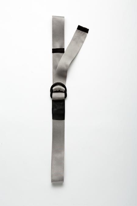 The Celect Double D Belt - Silver