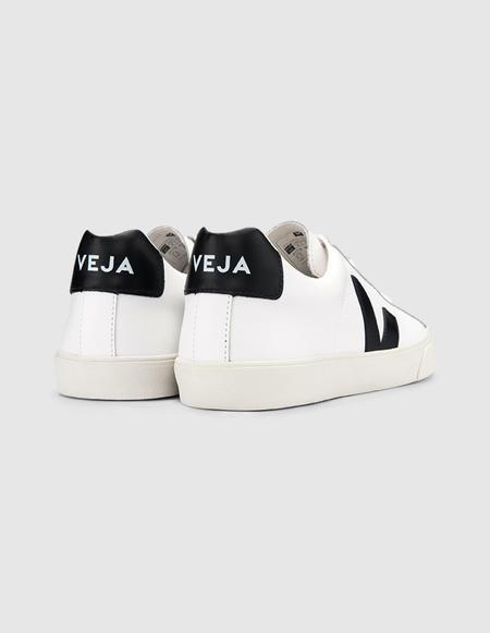 Unisex VEJA Esplar Leather Sneaker - Extra White/Black