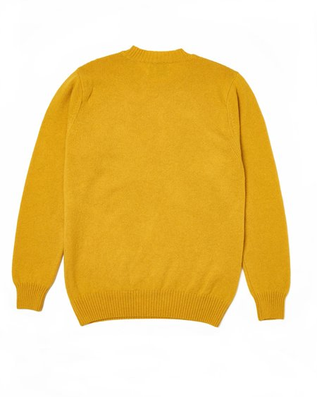 Country of Origin Basics Crew Sweater - Yellow