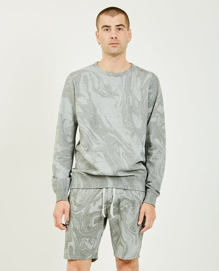 Wings+Horns Vertical Dye Crewneck