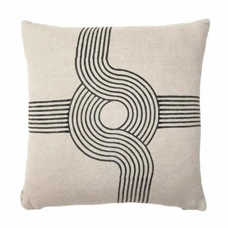 Block Shop Linen Pillow - Roundabout