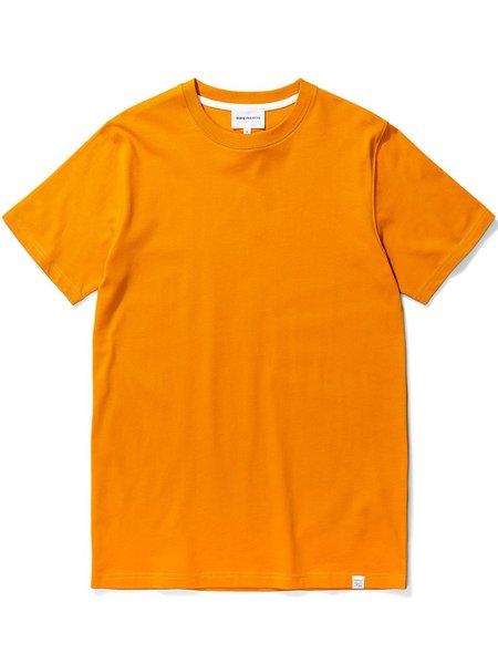 Norse Projects Niels Standard T-Shirt - Cadmium Orange