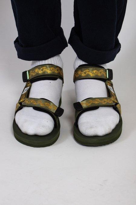 Suicoke Depa-V2 Aries Sandal - Khaki/Gold