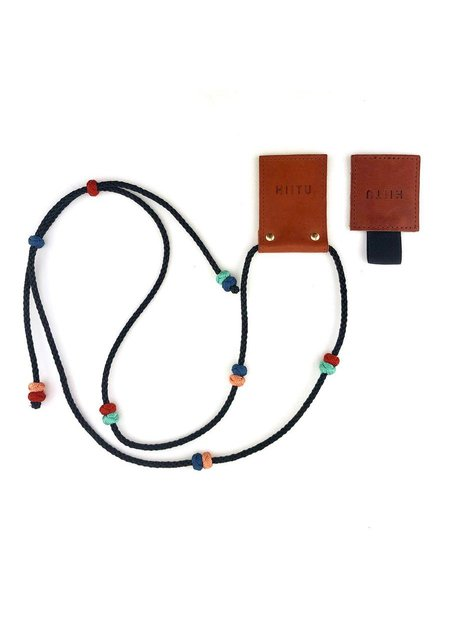 Hiitu Phone Necklace - Black Multi