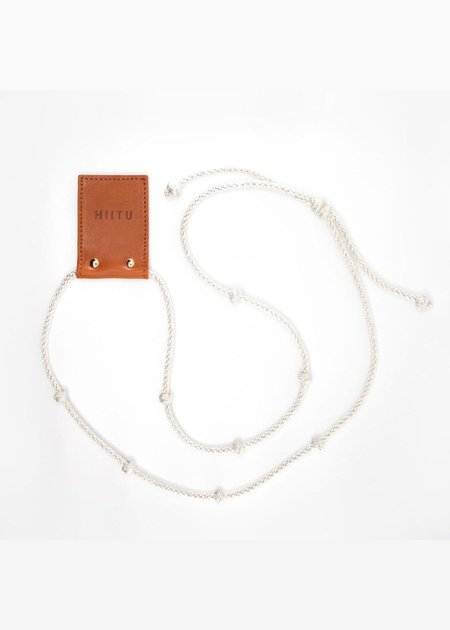 Hiitu Phone Necklace - Silver
